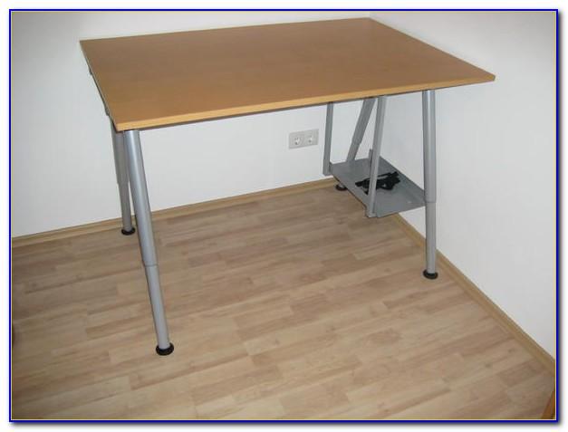 Galant Schreibtisch Weiß