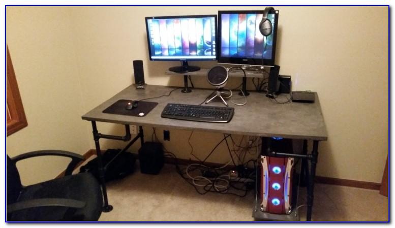 Gamer Schreibtisch Einrichten