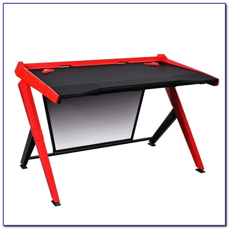 Gamer Schreibtisch Schwarz