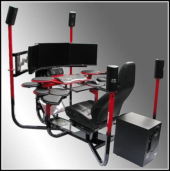 Gaming Sessel Mit Tisch