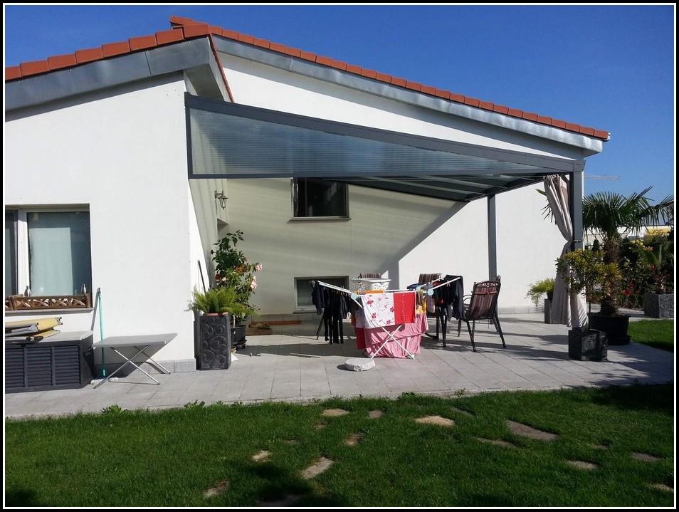 Garage Mit Terrassendach