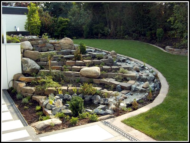 Garten Mit Großen Steinen Gestalten