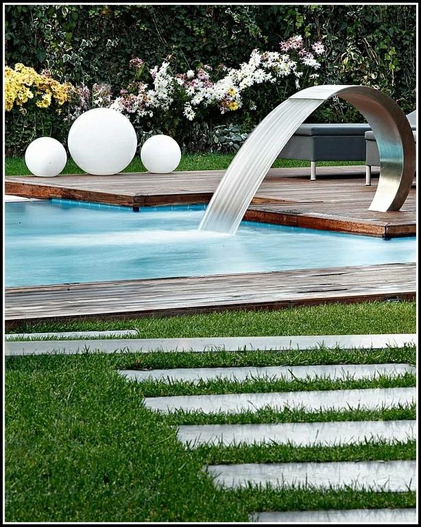 Garten Mit Pool Gestaltung