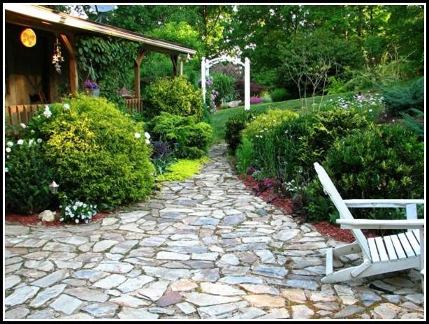 Garten Mit Steine Gestalten
