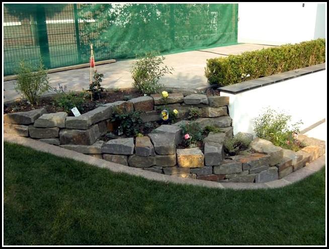Garten Mit Steinen Gestalten