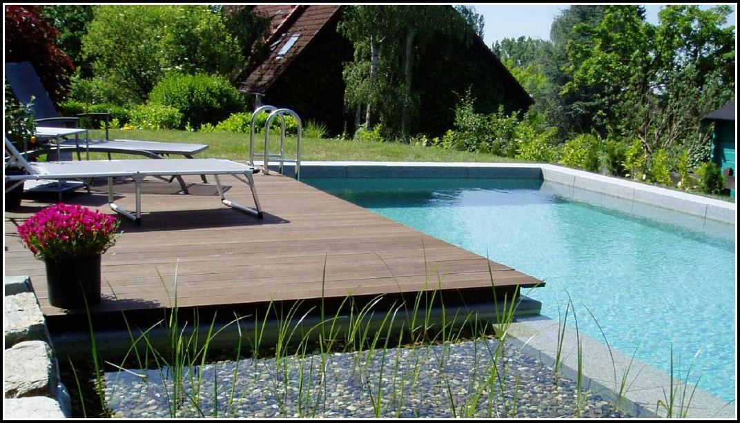 Garten Pool Mit Holzverkleidung