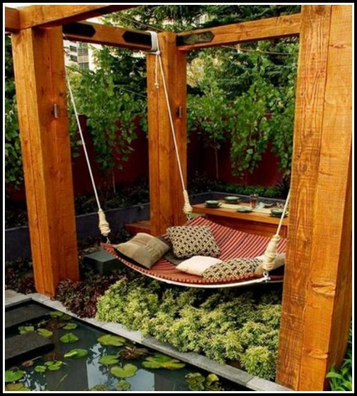 Garten Terrasse Aus Holz Anlegen