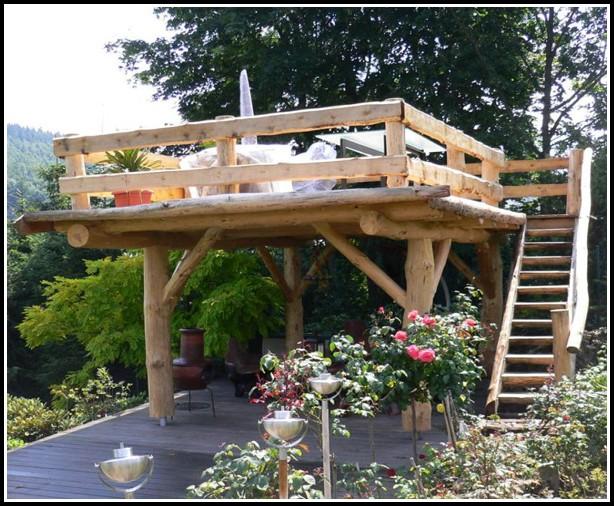 Garten Terrasse Bauen Stein