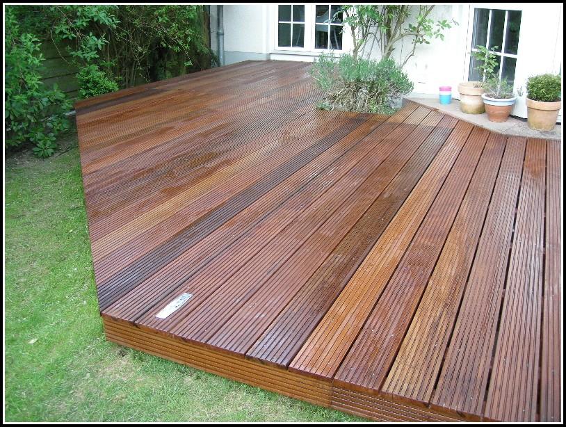 Garten Terrasse Holz Bauanleitung