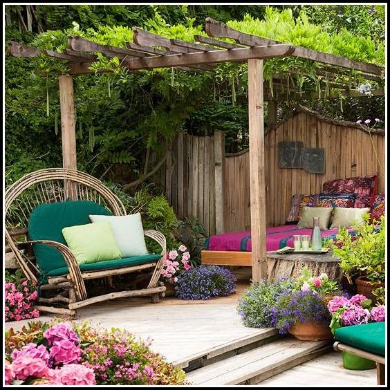 Garten Terrasse Holz Selber Bauen