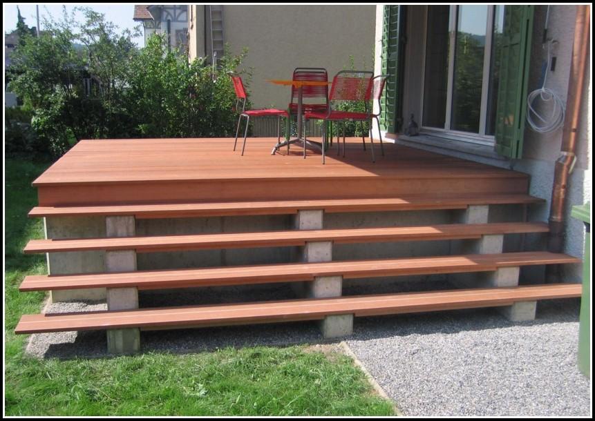 Garten Terrassen Aus Holz