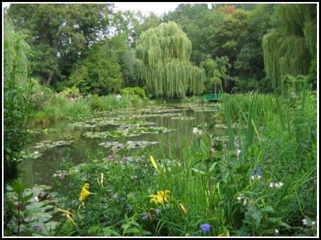 Garten Von Monet Frankreich