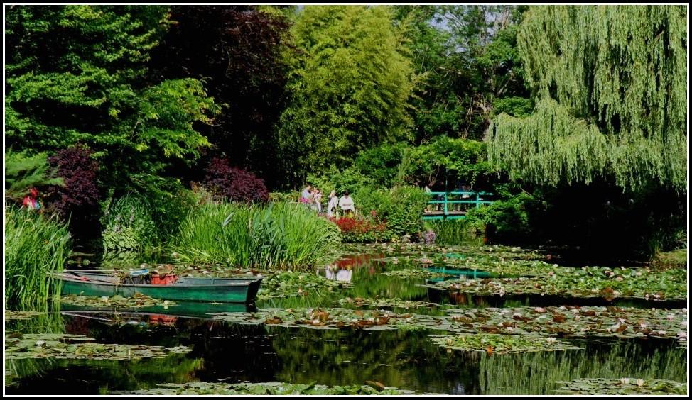 Garten Von Monet Paris