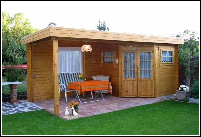 Gartenhaus Mit Terrasse Aus Polen