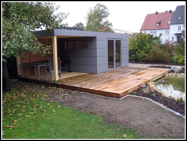 Gartenhaus Mit Terrasse Ebay