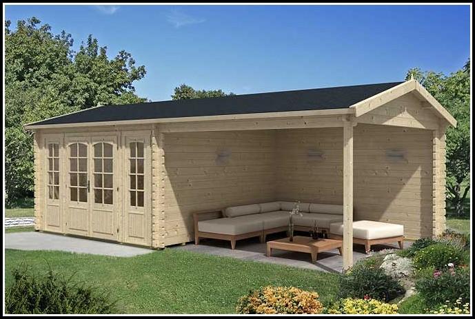 Gartenhaus Mit Terrassendach