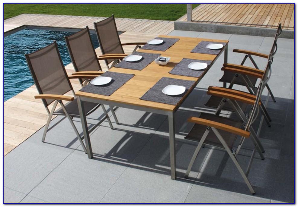 Gartenmöbel Alu Holz Set