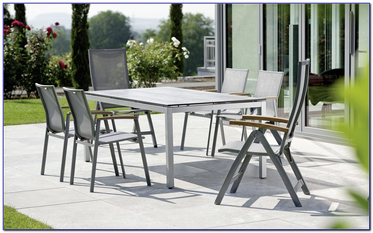 Gartenmöbel Aluminium Holz