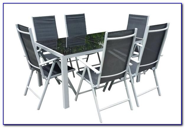 Gartenmöbel Aluminium Holzoptik
