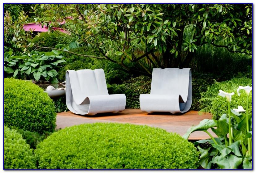 Gartenmöbel Aus Beton Gegossen