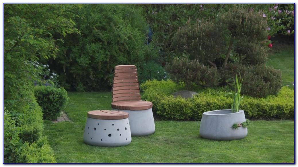 Gartenmöbel Aus Beton Selber Machen