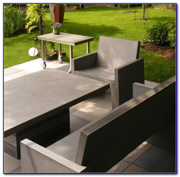 Gartenmöbel Aus Beton Und Holz