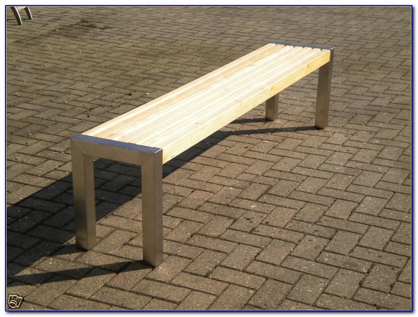 Gartenmöbel Edelstahl Mit Holz