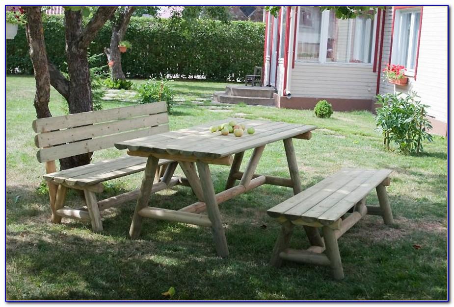 Gartenmöbel Holz Massiv Rustikal