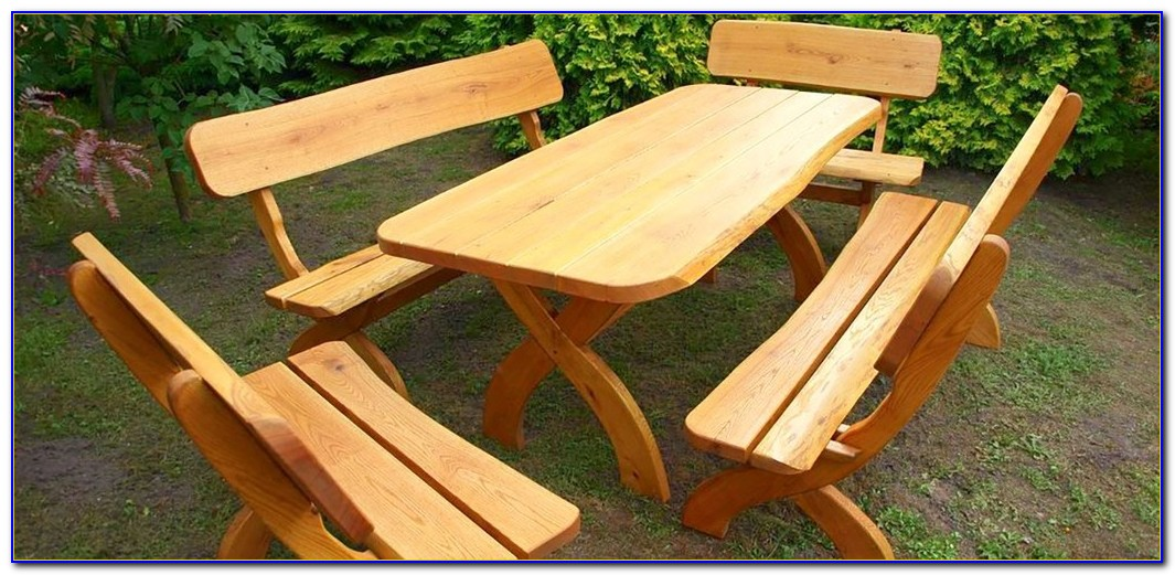 Gartenmöbel Holz Rustikal Polen