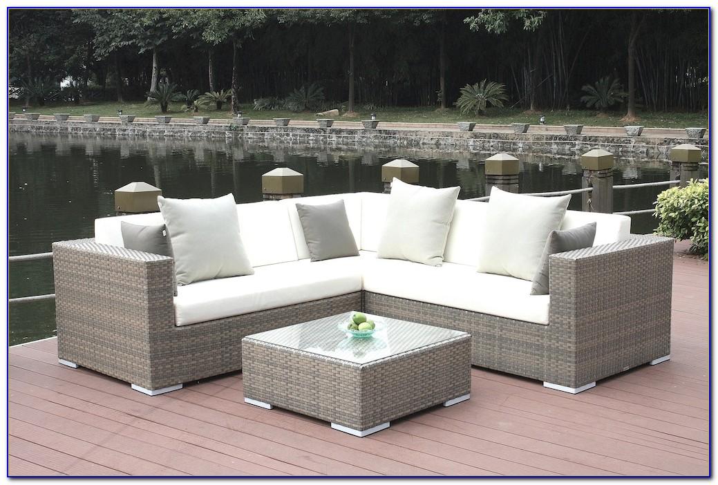 Gartenmöbel Lounge Rattan Set