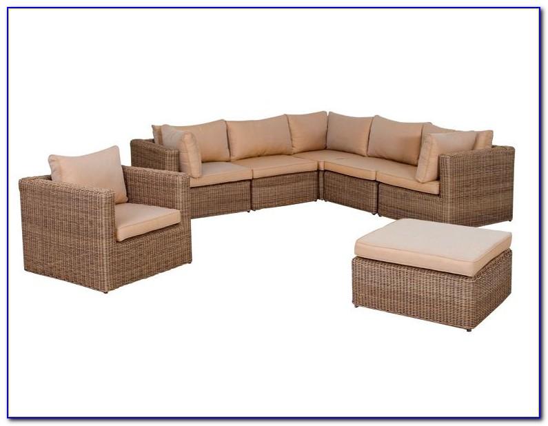 Gartenmöbel Lounge Set Rattan