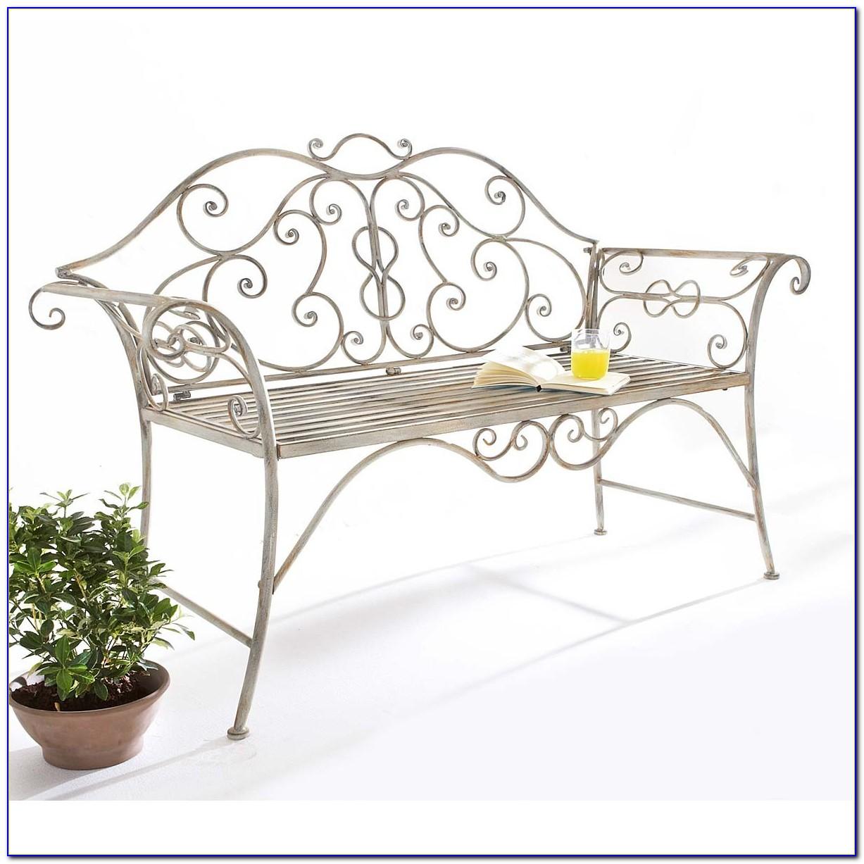 Gartenmöbel Metall Antik Weiß
