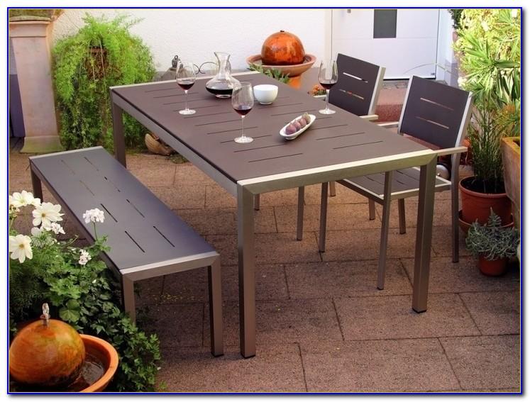 Gartenmöbel Metall Pulverbeschichtet