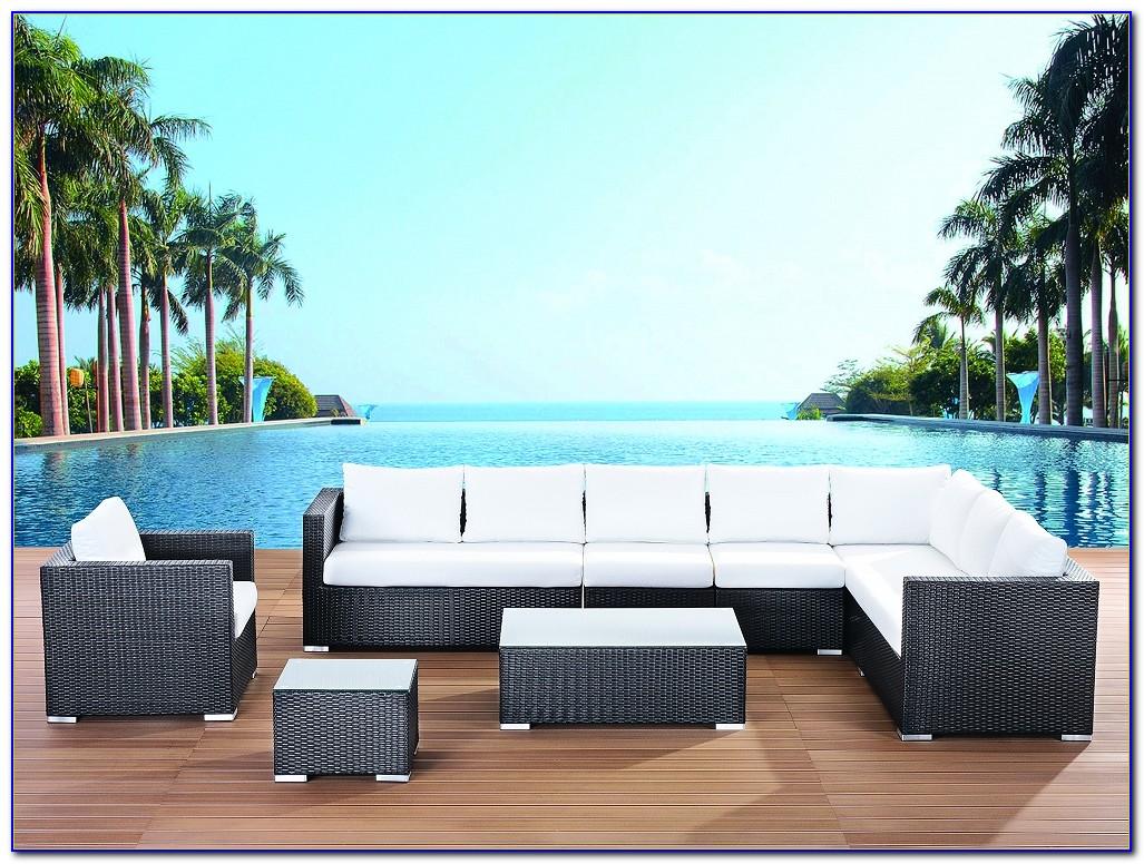 Gartenmöbel Polyrattan Lounge Sessel