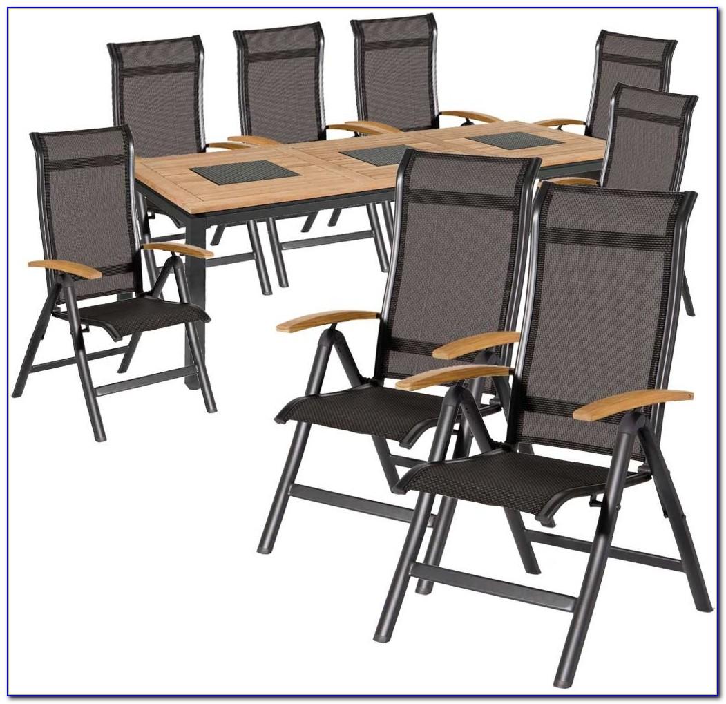 Gartenmöbel Set 7 Teilig Rattan
