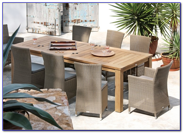 Gartenmöbel Set Rattan 8 Personen