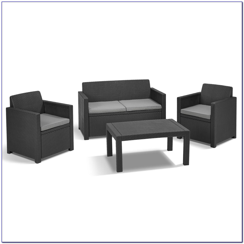 Gartenmöbel Sitzgruppe Rattan Lounge