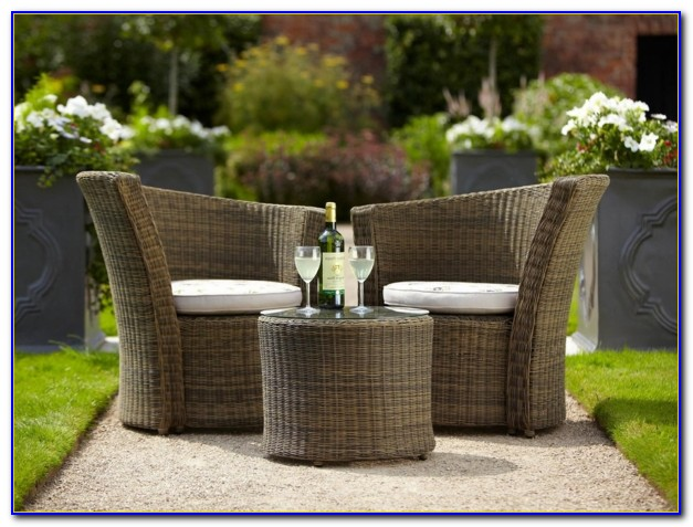 Gartenmöbel Tisch Rund Rattan