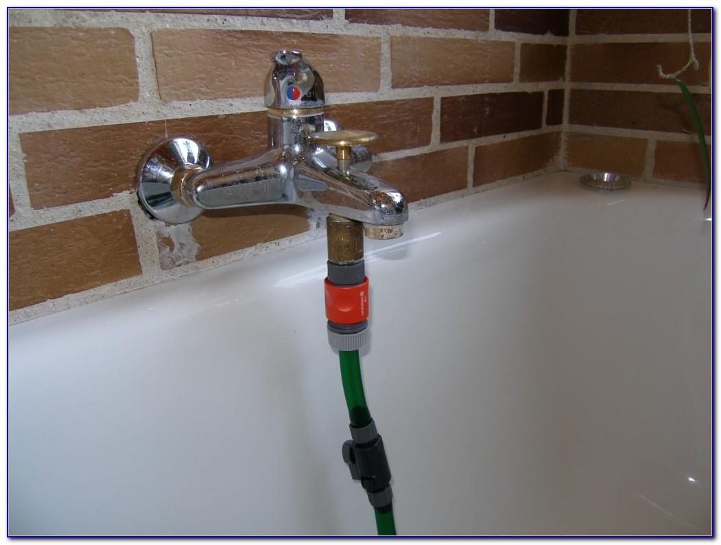 Gartenschlauch An Normalen Wasserhahn Anschließen