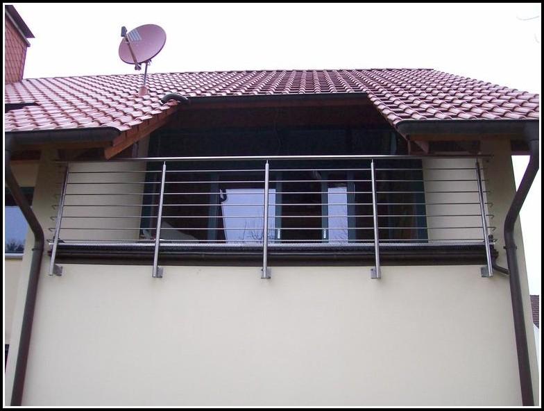 Geländer Französischer Balkon Edelstahl
