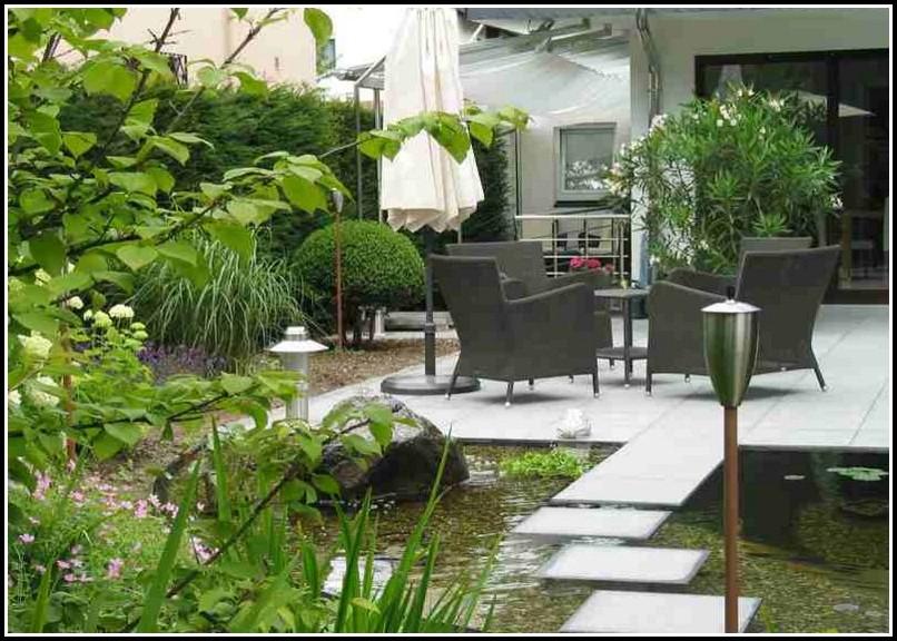 Gestaltung Terrassen Pflanzen