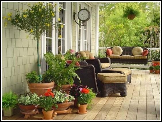 Gestaltung Von Kleinen Terrassen