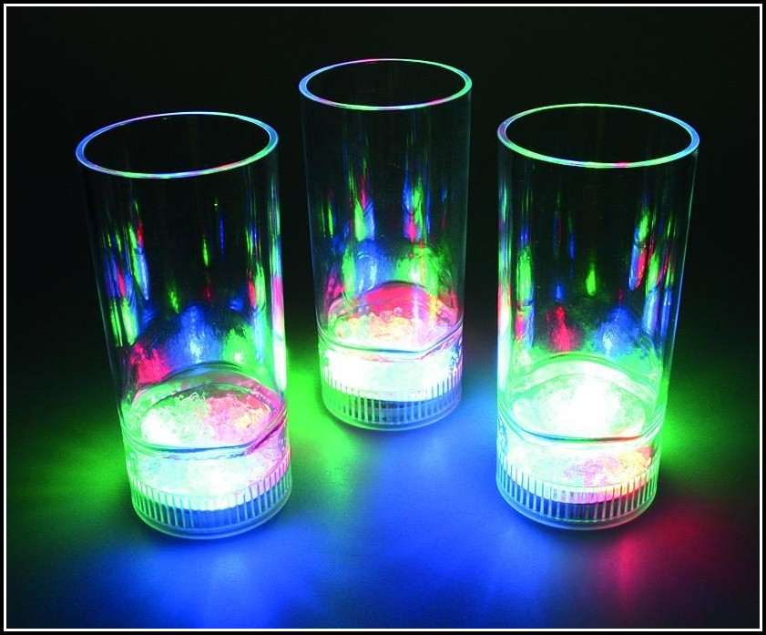 Glas Mit Led Beleuchtung