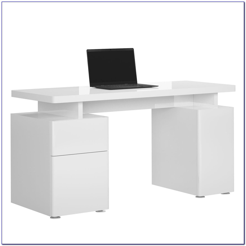Glas Schreibtisch 140 Cm