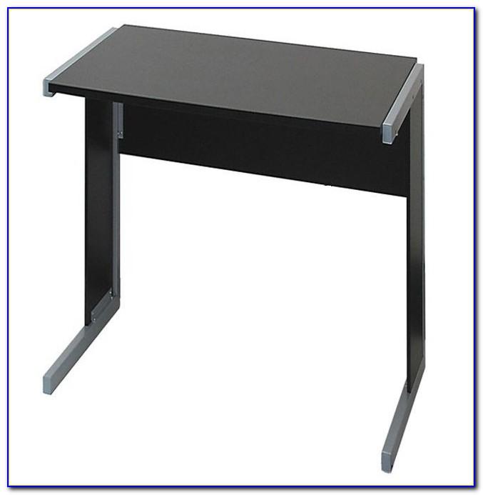 Glas Schreibtisch 80 Cm Breit