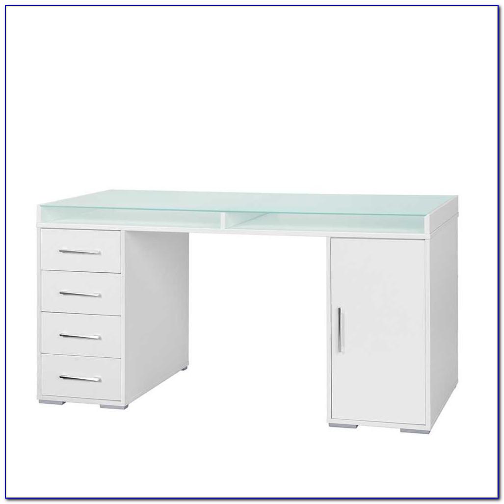 Glas Schreibtisch Ikea