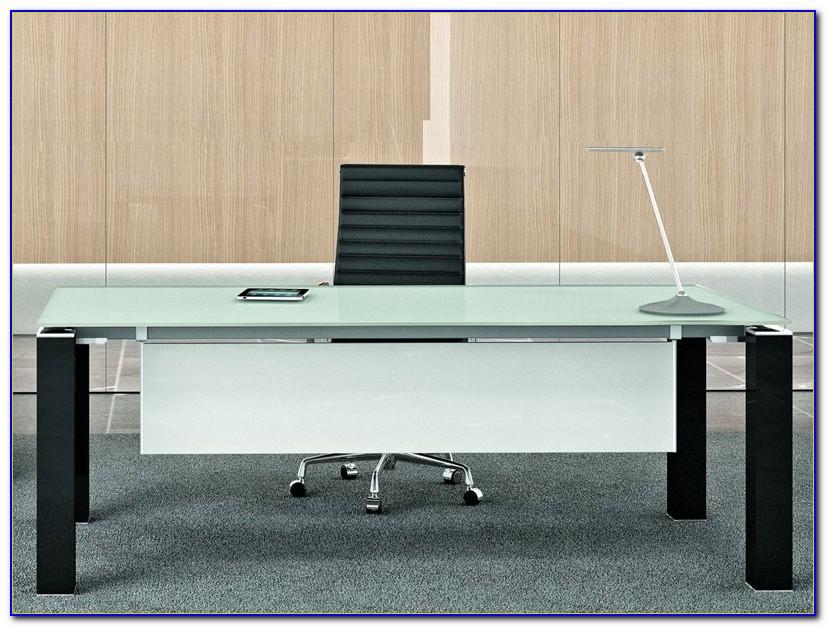 Glas Schreibtisch Selber Bauen