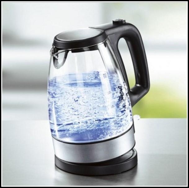 Glas Wasserkocher Mit Beleuchtung