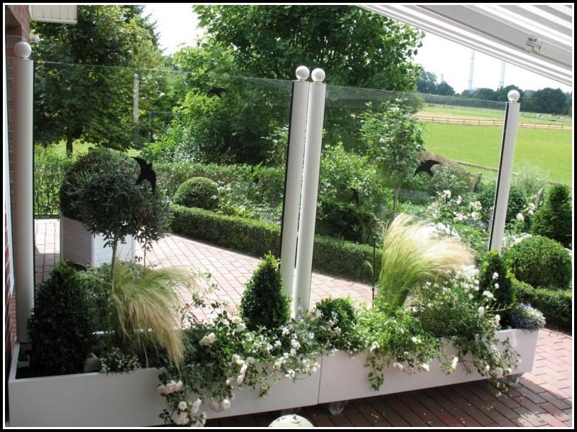 Glas Windschutz Für Terrasse