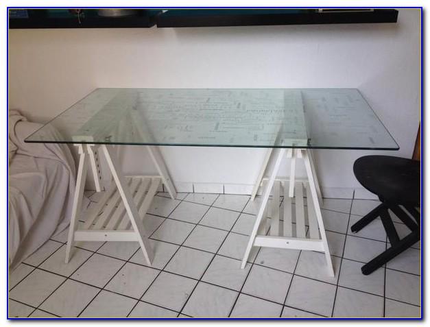 Glasplatte Weiß Für Schreibtisch